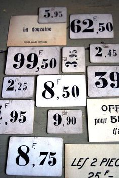 French brocante, French-market #signs #www.frenchriviera.com