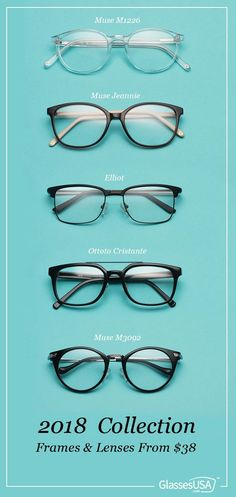 6c56a150274 The 2018 styles are here and they are awesome! Buy glasses online from  38 +