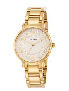 gold scallop gramercy watch - kate spade new york