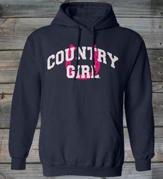 Women's Country Girl ® Horseshoe Hoodie