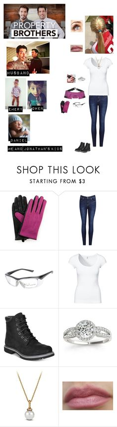 """""""Me in """"Property Brothers"""""""" by nerdbucket ❤ liked on Polyvore featuring IDA, H&M, Timberland, Allurez, David Yurman and Chanel"""