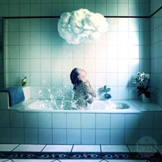 Anja Stiegler dream photography, Rain Shower