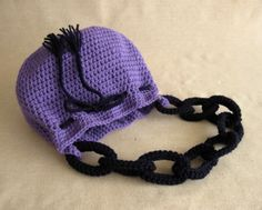 #crochet chain link #purse