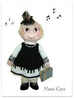 Вяжем игрушки спицами с Ольгой Чепижной: Пианистка. Портретная кукла связанная спицами.
