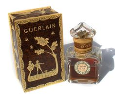 Rare Guerlain Perfume Scent 624 Baccarat Glass by RibbonsEdge