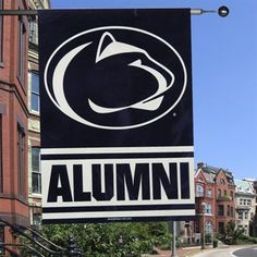 Great flag from shop psu sports. Nice idea for my apartment wall and to show some PSU pride.