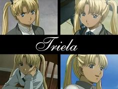 Triela - Gunslinger Girl- I have to say this is anime is weird as shit with a lot of symbolism. But it's good.