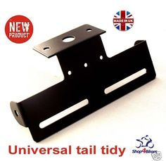 Trike quad ATV bike tail tidy number plate holder rsend tailtidy