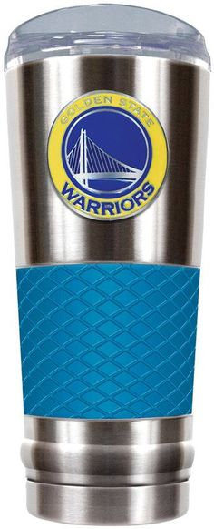 NBA Golden State Warriors 24-Ounce Draft Stainless Steel Tumbler