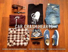 Car Crash Hearts Outfit Build. No.2. How to wear 'The Original' Car Crash Hearts Tee Part II. https://marketplace.asos.com/seller/carcrashhearts http://www.etsy.com/uk/shop/cchclothing