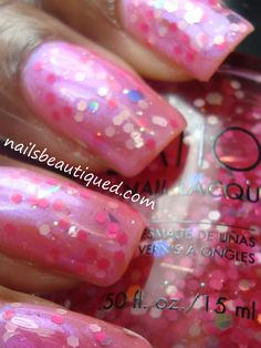 Nails Beautiqued: Pink Wednesday   Sation's Cotton Candy And Confessions Of A Nail Tech