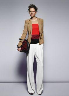Mango lookbook septiembre 2012: para gustos las formas, los estilos y los colores