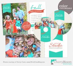 1 Facebook Timeline, 1 5x7 mini session marketing card, and 2 CD labels. What's not to love? <3