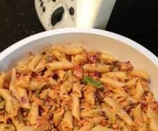 Recipe Simple Pasta & Vegetable Salad by HAPPY HINKS - Recipe of category Side dishes