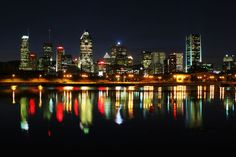 A beautiful image of Montreal, taken by Chris Zacchia on January 26, 2012.