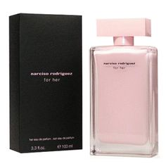 Narciso Rodriguez For Her Eau de Parfum www.crispinna.com.br