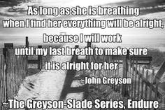 http://www.amazon.com/Endure-The-Greyson-Slade-Series-Volume/dp/149378174X/ref=tmm_pap_title_0?ie=UTF8&qid=1385429911&sr=8-1