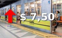 Anuncian que la tarifa del subte se irá a $7,50 en julio