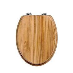 Premier Housewares Toilet Seat, Oak £30.02