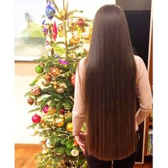 "3,072 Likes, 14 Comments - Long Hair inspiration! (@girlslonghair) on Instagram: ""⭐️Perfect hair!⭐️ 💁🏼 @tanechkabeautifulady 🔹Trim your hair when needed to keep it one length and…"""