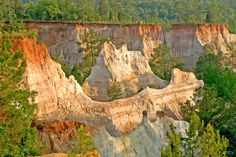 50 Undiscovered Places You'll Love in the South: Providence Canyon State Park