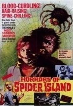 Horrors Of Spider Island    - FULL MOVIE - Watch Free Full Movies Online: click and SUBSCRIBE Anton Pictures  FULL MOVIE LIST: www.YouTube.com/AntonPictures - George Anton -   A plane crash on the way to Singapore leaves a troupe of beautiful dancers stranded on a deserted island. They pass the time skinny-dipping and devising new skimpy outfits until a radioactive spider bites their manager and turns him into a wild-eyed, f....