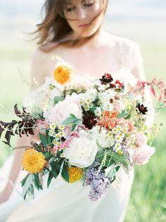 Summer Wedding Flowers - Beargrass Gardens Floral & Events www.beargrassgardens.com Orange Photographie