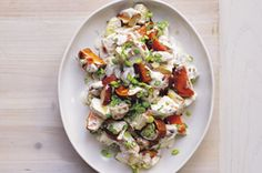Grilled Herb & Garlic Triple Potato Salad Your best buddy for spring and summer BBQs. Tuna Recipes, Salad Recipes, Cooking Recipes, Healthy Recipes, Cheese Recipes, Easy Recipes, Healthy Food, Healthy Eating, Kitchens
