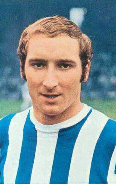 Dennis Clarke of Huddersfield Town in 1970.