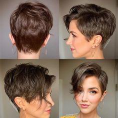 Edgy Short Hair, Short Straight Hair, Short Hair With Layers, Short Hair Cuts, Shot Hair Styles, Hair Styles 2016, Curly Hair Styles, Hair Color And Cut, Haircut And Color