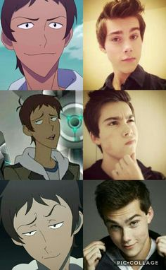 Lance and his voice actor Jeremy Shada. The resemblance!!! (>♡<)/