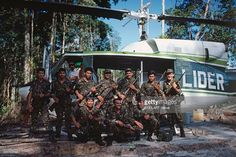 Military police commandos from Amazonia state on a mission from mining companies to flush out illegal gold miners or garimpeiros.