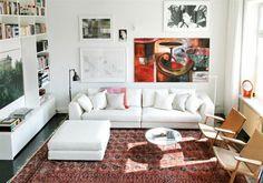 salon tapis rouge