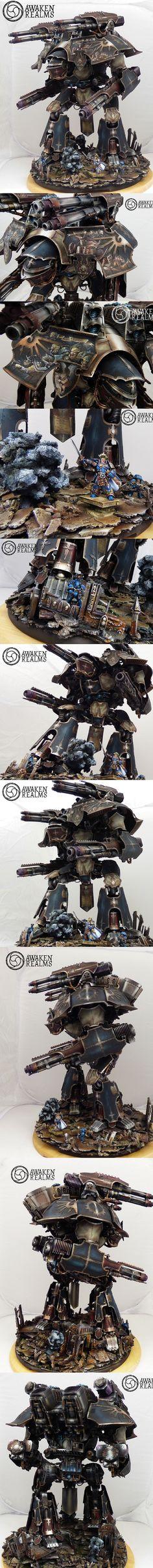 40k - Warlord Titan by Awaken Realms