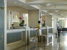 #rodospalladium Rhodes Hotel, Welcome Decor, 5 Star Hotels, Front Desk, Hotel Offers, Luxury, Wi Fi, Furniture, Public