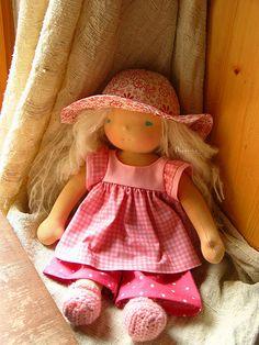 "Lea, 15"" custom doll"