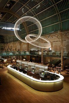 Heathfield & Co, Bespoke Lighting Designers: Finale - Lighting Installation, Royal Opera House, Covent Garden.