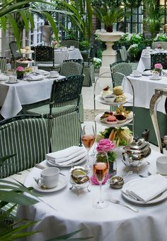 Award Winning Tea at the Chesterfield Hotel in London