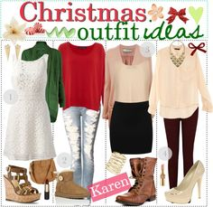 """""""Christmas Outfit Ideas 3"""" by every-girl-has-a-tip on Polyvore"""