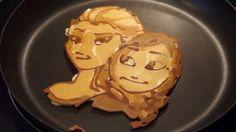 Photo: Nathan Shields/Youtube Anna and Elsa pancakes