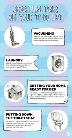 Get ready to cross common household chores off of your to-do list forever. Click through to uncover the new tech and gadgets that may make these domestic tasks a thing of the past.