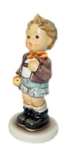 Cheeky Fellow Hummel Club Figurine 554