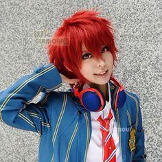 uta no prince sama cosplay | Uta No Prince sama Cosplay Short Dark Red Hair Wig MB293 | eBay