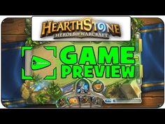 ▶ ➤ PREVIEW: HearthStone: Heroes of Warcraft (Beta) | Gameplay with Commentary - YouTube