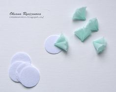 How to Make a Simple Flower from Chiffon. DIY Tutorial