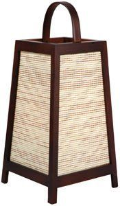Oriental Furniture Asian Decor 17-Inch J161 Akida Rattan and Spruce Decorative Japanese Lantern Oriental Lamp, Walnut by Oriental Furniture. $48.00. Simple, elegant, unique japanese style lantern, crafted from kiln dried spruce and subtle woven rattan shade, ships fully assembled, ul approved wiring, socket and switch for up to a 25w bulb, ships in 48hrs from our massachusetts warehouse via fedex, expedited delivery available.
