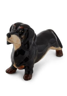 Dachshund Bank, #ModCloth @Vicki Averitt...needs this piggy bank