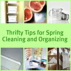 Time for spring cleaning!  Make your own cleaning products and organization tools with these ideas from Remodelaholic.