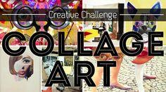 Creative Challenge: COLLAGE ART - You, Me & CharlieYou, Me & Charlie