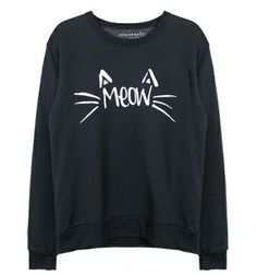 MEOW Pulli von Sincerely Jules http://animalicious.de/2013/12/06/meow-all-over/